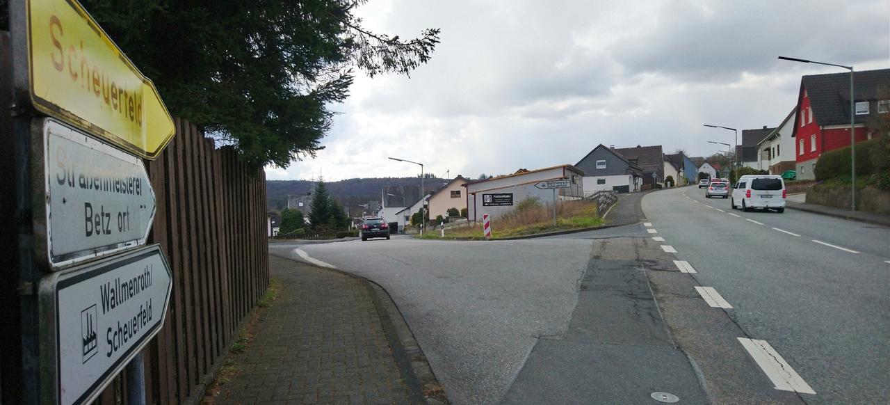 Ausbau K 106: Scheuerfeld verärgert über Umleitung
