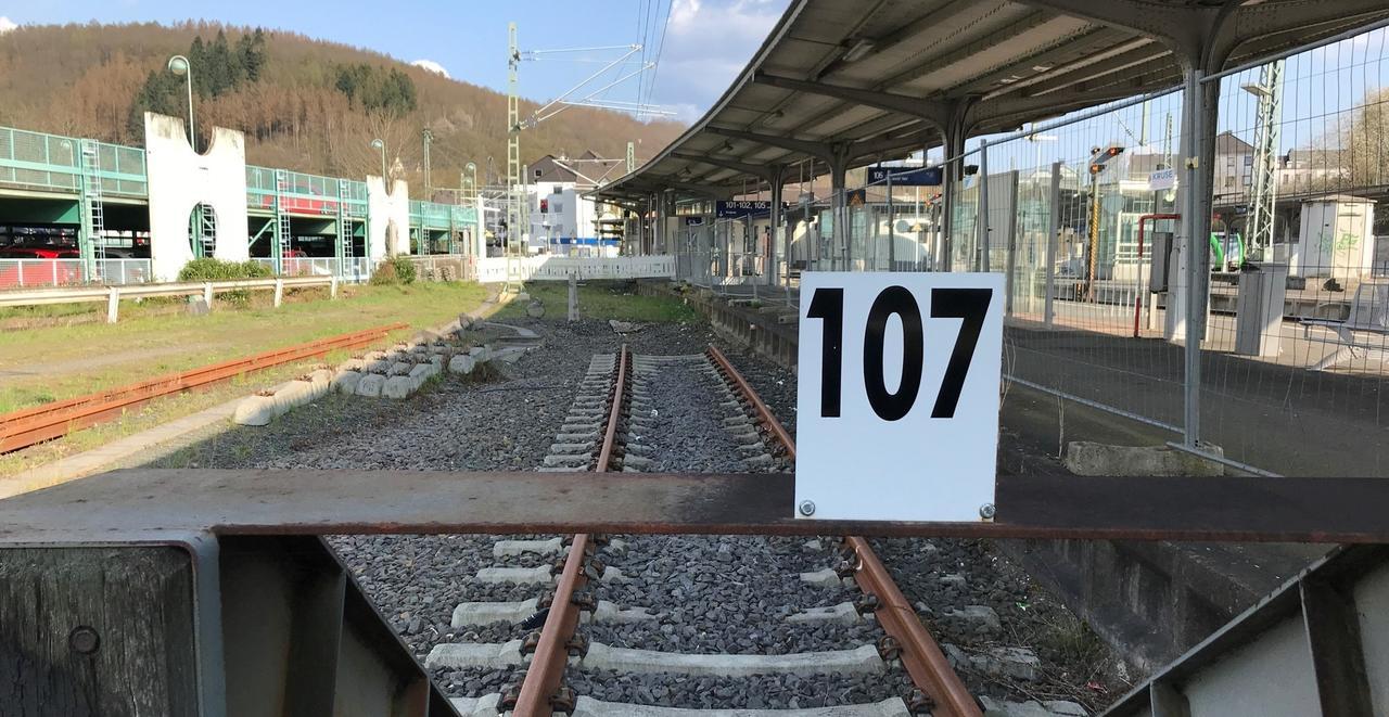Bahnhof Betzdorf: Baubeginn erst im Frühjahr 2023