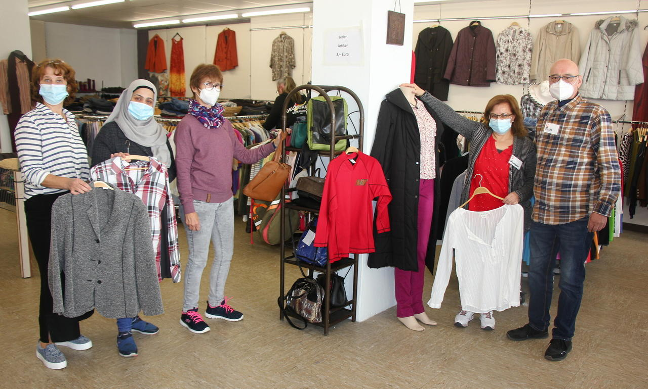 Mode und mehr jetzt auf doppelter Fläche: Laden der Caritas in Altenkirchen ist in neue Räume umgezogen
