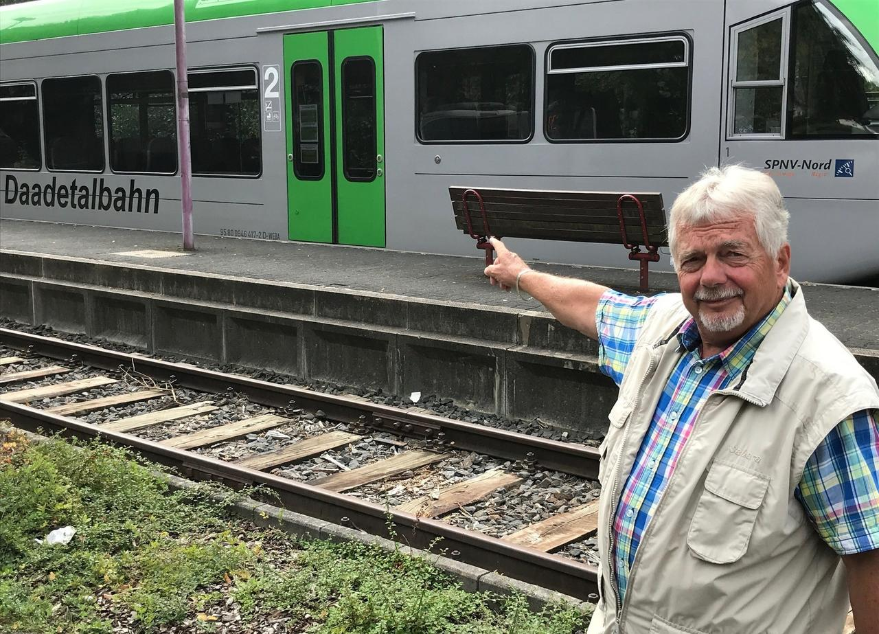 Ist dieser Zuglärm nicht vermeidbar? Daadener genervt von Bahnbetrieb trotz Stopp