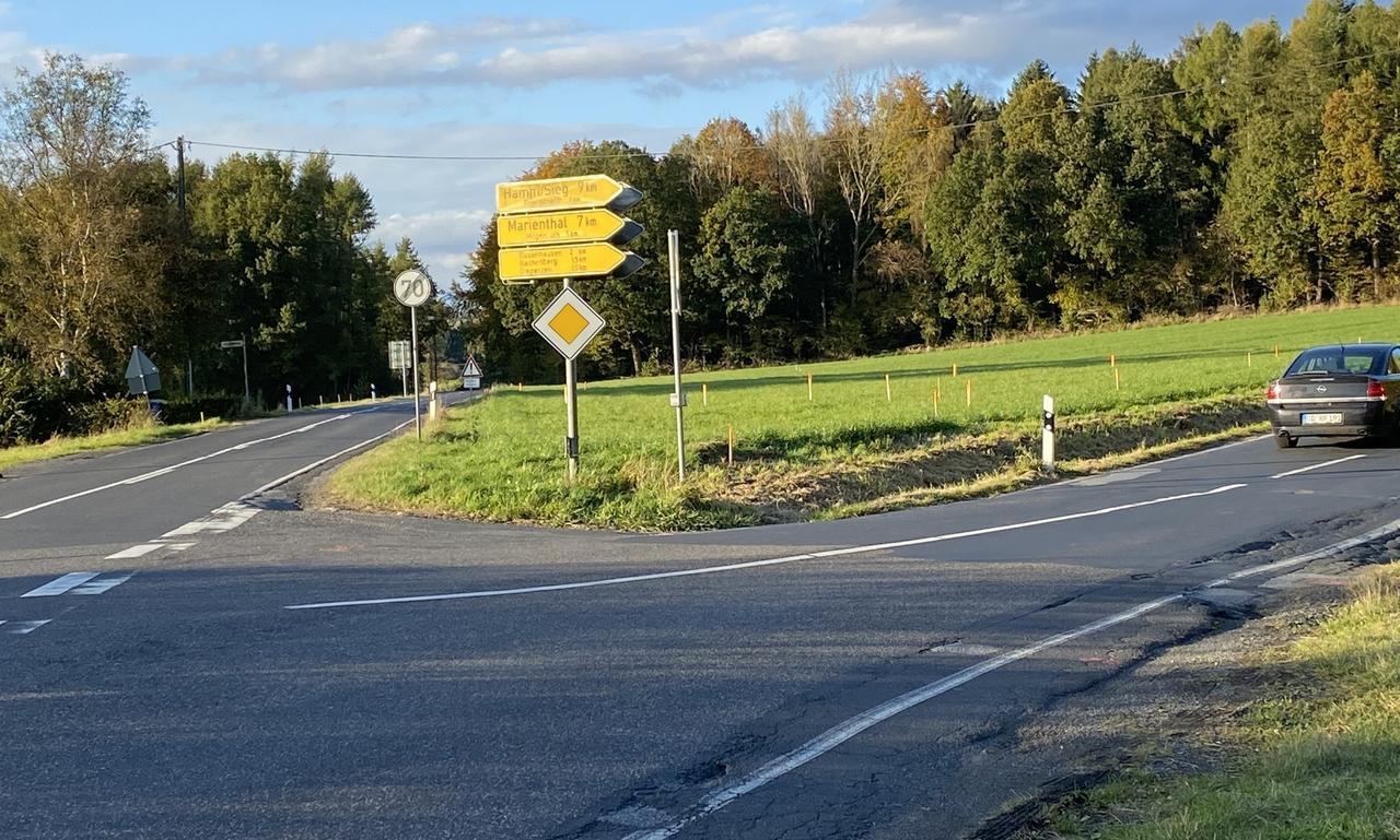 LBM stellt Kreuzung bei Honneroth fertig: L267 und K40 bleiben drei Monate lang gesperrt