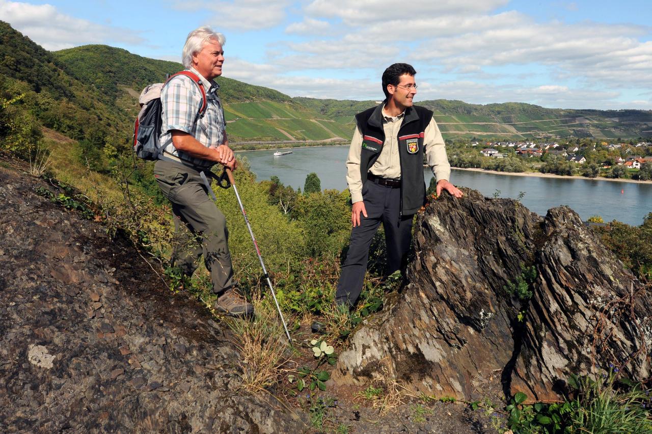 Klettersteig Rhein : Bopparder klettersteig mit traumnote rhein hunsrück zeitung